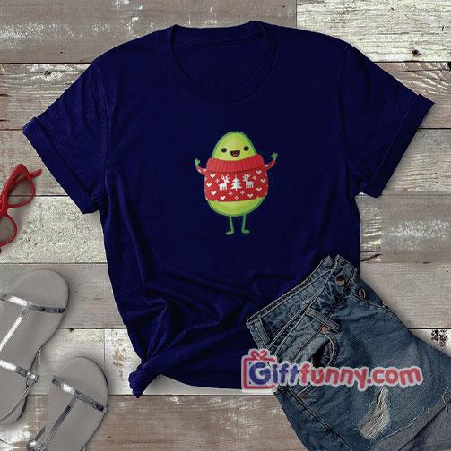Avo Merry Christmas! T-Shirt – Funny Avo Shirt