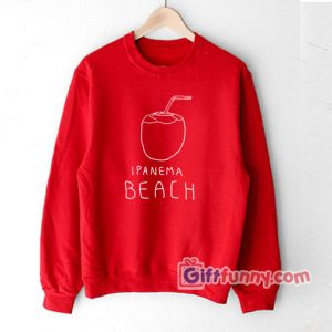 Ipanema-beach-T-Shirt Gift Funny Shirt