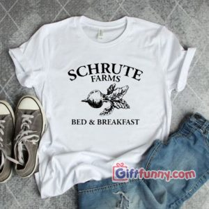 Schrute Farms – Bed and Breakfast T-Shirt