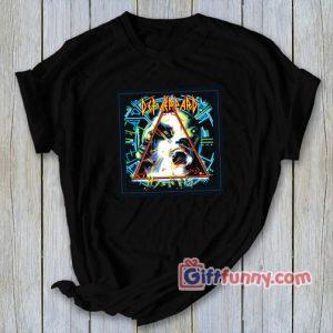def leppard hysteria T-Shirt - Gift Funny Shirt