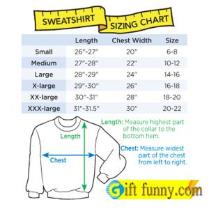 sweatshirt sizing chart 300x300 - Size Chart