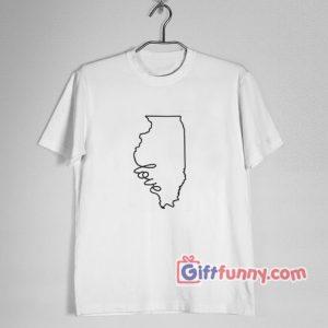 Chicago Shirt – Love Chicago Shirt – Funny Valentine Shirt