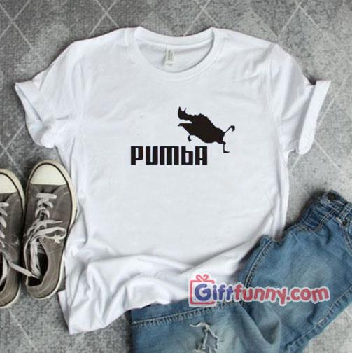 Funny Pumba T-Shirt – Funny gift Shirt
