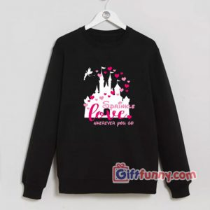Disney Valentine Sweatshirt – Sprinkle Love Wherever You Go Sweatshirt