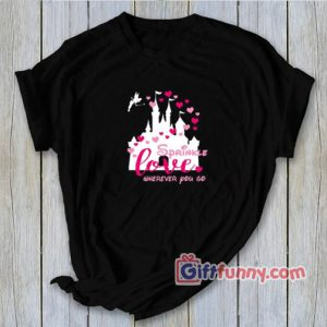 Disney Valentine Sweatshirt - Sprinkle Love Wherever You Go Sweatshirt