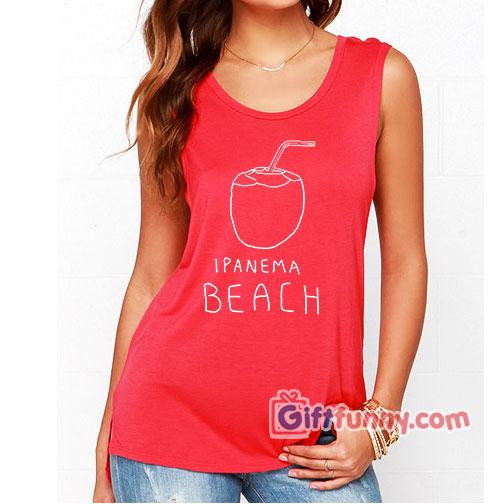 IPANEMA BEACH Tank top – Funny's Gift Tank top