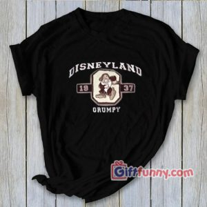 Vintage Disneyland Grumpy T-Shirt - Funny's Grumpy Shirt
