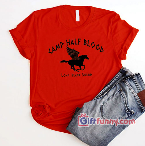 Camp Half Blood T-shirt Percy Jackson T-shirt  – Funny's Shirt