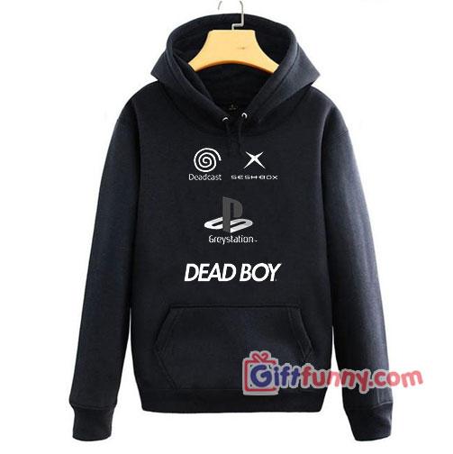 DEAD BOY – GREY STATION Hoodie
