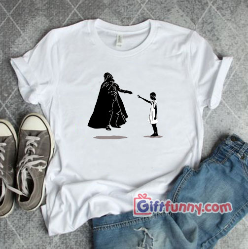 Eleven vs Darth Vader Shirt - Funny Star Wars Shirt - Funny Stranger Things Shirt