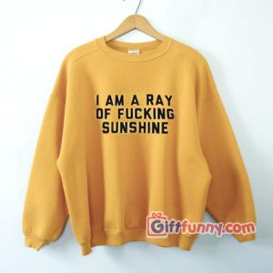 I am a ray of fucking sunshine Sweatshirt