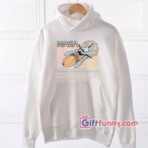 NASA Retro Pastel Kennedy Space Center Hoodie