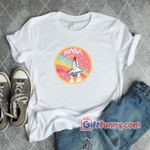 Nasa rocket pastel color Shirt T-Shirt - Funny's Shirt