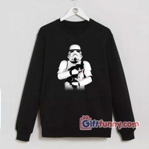 STORMTROOPER CAT Sweatshirt - Funny STORMTROOPER Sweatshirt
