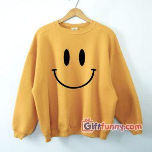 Smile-Sweatshirt---Funny's-Smile-Sweatshirt