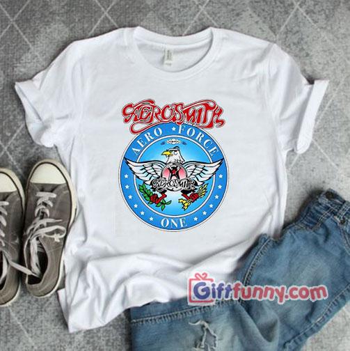 Wayne's World Garth Aerosmith T-shirt – Funny's Shirt
