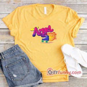 Angel Roller Skates Shirt – Vintage Roller Skaters Shirt – Funny T-Shirt