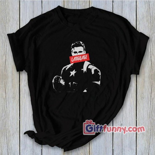 Avengers Captain America Language Marvel shirt – Funny's Shirt