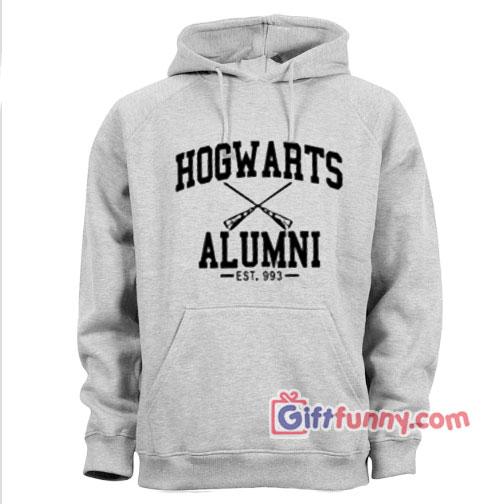 Hogwarts Alumni Hoodie – Funny's Hogwarts hoodie