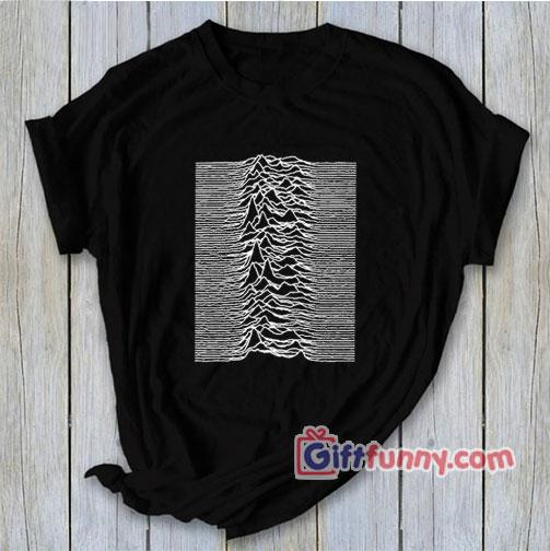 Joy Division Unknown Pleasures Shirt, Ian Curtis Shirt, Music Shirt - Funny Shirt
