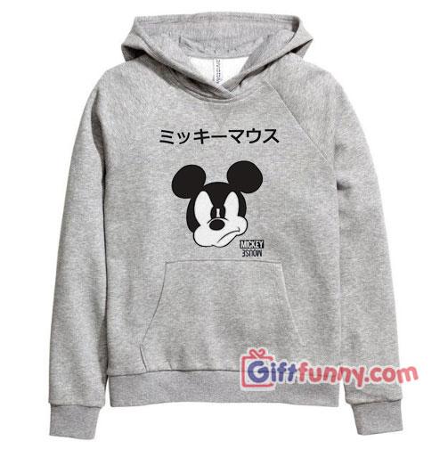 Disney Mickey Mouse Japanese Hoodie – Funny's Disney Hoodie
