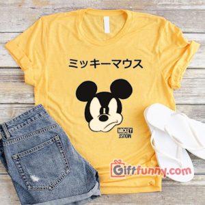 Disney Mickey Mouse Japanese Hoodie - Funny's Disney Hoodie
