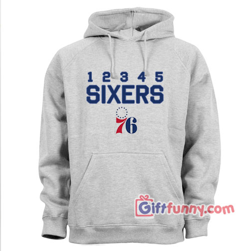 buy online 55d83 26d85 Philadelphia 76ers Hoodie - Funny's Hoodie