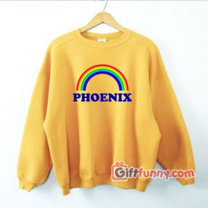 Phoenix Rainbow Sweatshirt - Funny's Rainbow Sweatshirt