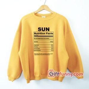 SUN-nutrition-Facts-Sweatshirt