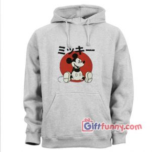 Vintage Disney Hoodie – Vintage Disney Japan Mickey Mouse – Funny Hoodie