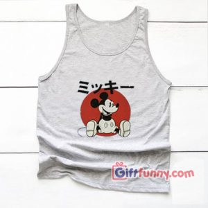 Vintage Disney Tank top – Vintage Disney Japan Mickey Mouse Tank top – Funny's Tank top