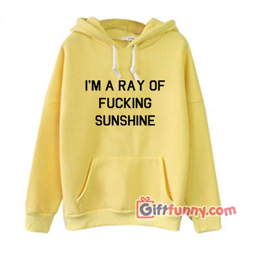 I'M A RAY OF FUCKING SUNSHINE Hoodie – Funny's Hoodie