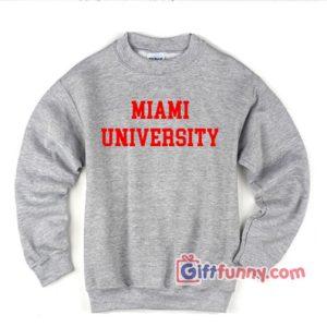MIAMI-UNIVERSITY-Sweatshirt