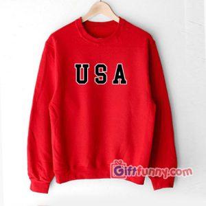 USA Sweatshirt - Funny's Sweatshirt