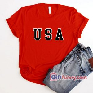 USA T-Shirt - Funny's USA Shirt