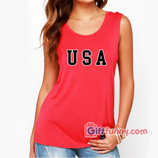 USA Tank top - Funny's Tank Top