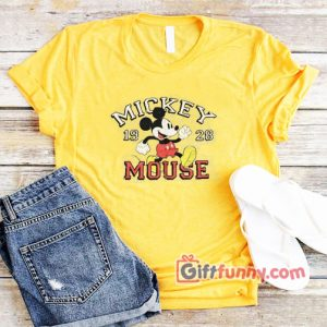 Vintage Disney Shirt – Mickey Mouse 1928 T-Shirt – Funny's Disney Shirt