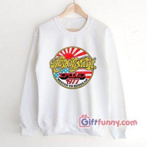 Vintage-Sweatshirt---Aerosmith-1977-Sweatshirt---Aerosmith-1977-Boston-Budokan-Sweatshirt---Funny's-Sweatshirt