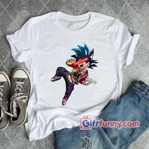 Dragon ball z supreme T-Shirt - Supreme Shirt - Parody T-Shirt - Funny's Shirt
