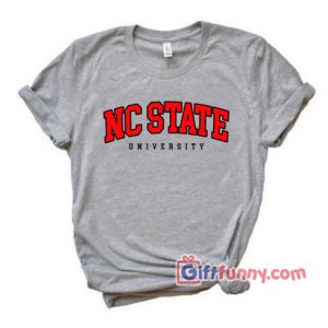 NC-STATE---University-T-Shirt---Funny's-Shirt