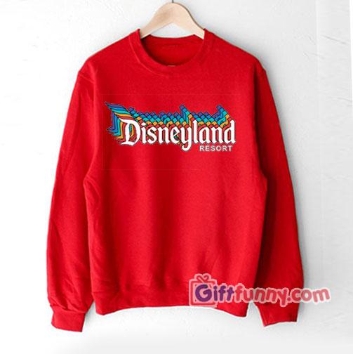 Vintage Disneyland Resort Sweatshirt , Vacation Disney Sweatshirt , Funny\u0027s  Disney Sweatshirt