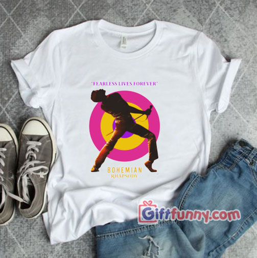 Queen Bohemian Rhapsody Band T Shirt – Funny's Shirt