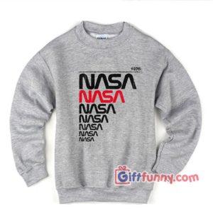 Vintage-NASA-1976 Sweatshirt