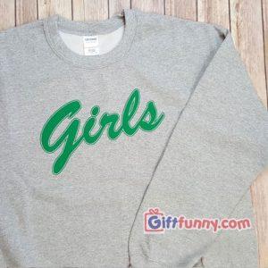 Girls Sweatshirt - Friends Girls Sweatshirt - Funny's Sweatshirt