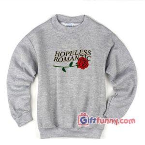 HOPELESS-ROMANTIC-Sweatshirt