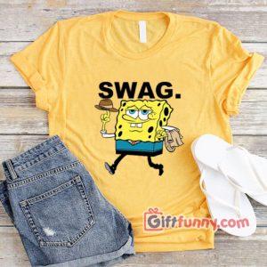 Spongebob Squarepants SWAG T shirt Funnys Sponge bob Mouse Shirt 300x300 - Giftfunny