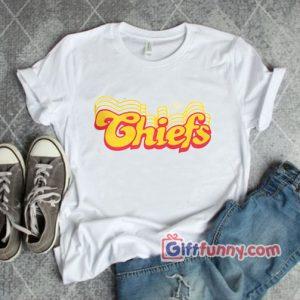 Retro Chiefs T-Shirt – Funny Shirt