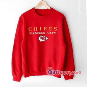 Vintage Kansas City Chiefs Sweatshirt - Funny Sweatshirt