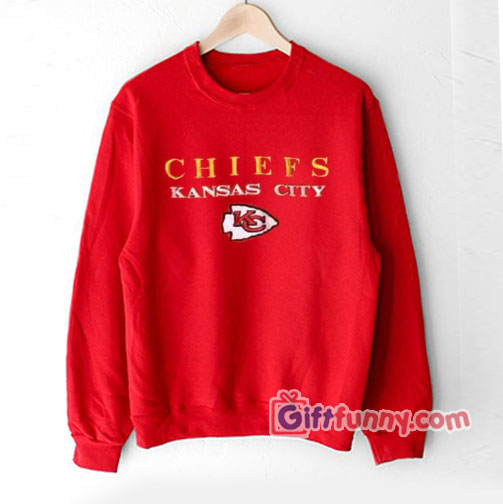 Vintage Kansas City Chiefs Sweatshirt – Funny Sweatshirt