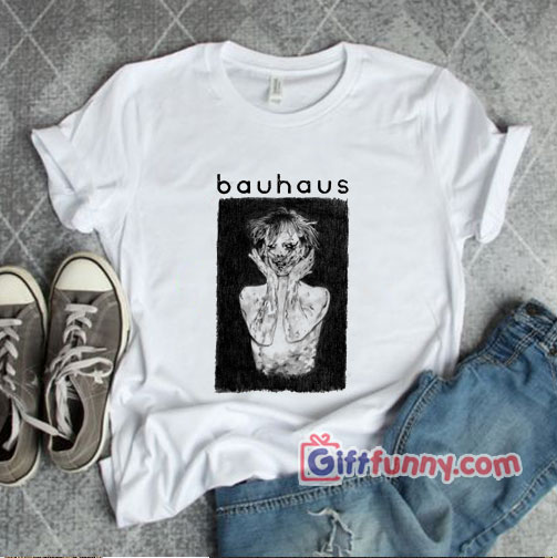 Bauhaus Band T-Shirt – Peter Murphy Retro Vintage Shirt – Funny Shirt